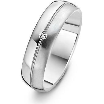 Danish Design - Ring - Femmes - IJ144R1D-60 - Horsens - Titanium - Diamants - 60