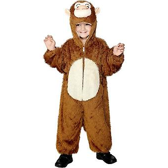 Monkey Costume, Medium.  Medium Age 7-9