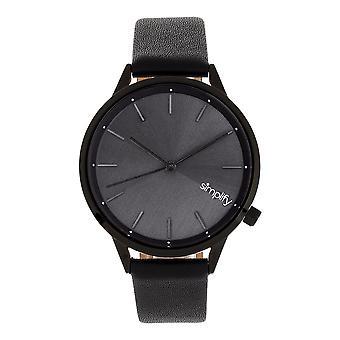 Yksinkertaista 6700-sarjan hihna kello-musta