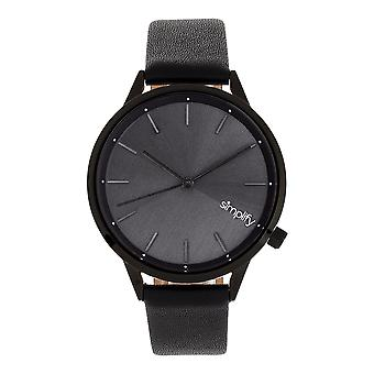 Simplify The 6700 Series Strap Watch - Black
