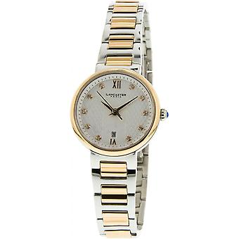 Lancaster watch watches ENIGMA LPW00052 - watch ENIGMA steel two-tone Dor Rose money woman