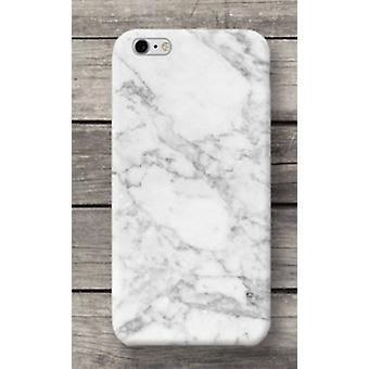 White Marble Peel iPhone 7/8 - Motif marbre/blanc