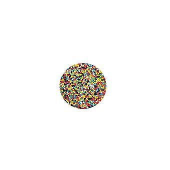 Lila Cupcakes - Non Pareils - Pixel Mix - neues Rezept - 100g
