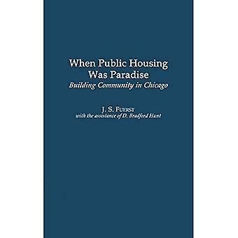 Quando a habitação pública era o paraíso: construção da comunidade em Chicago