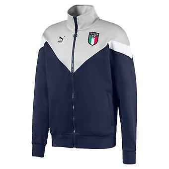 2019-2020 Italy Puma Iconic MCS Track Jacket (Peacot)