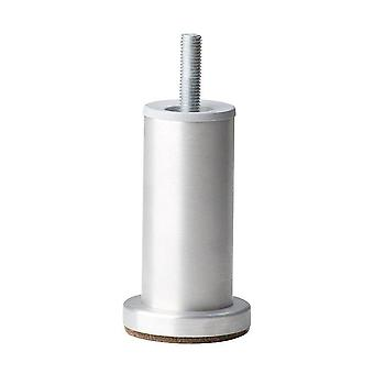 Ronde aluminium meubelpoot 10 cm (M10) (1 stuk)