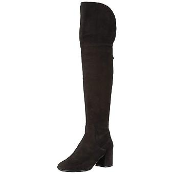 Cole Haan Womens W09565 Suede Closed Toe Over Knee Fashion Boots