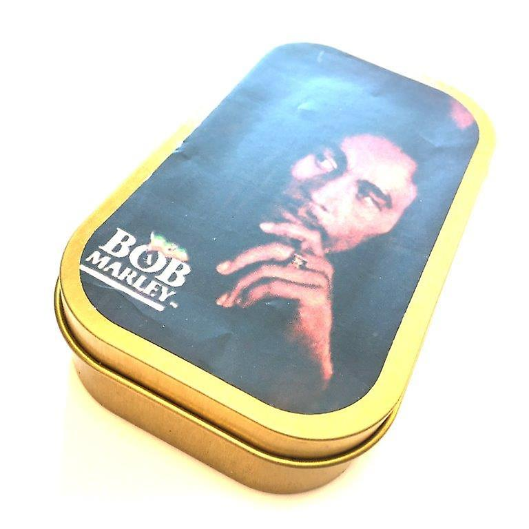 Tobacco case with Bob Marley