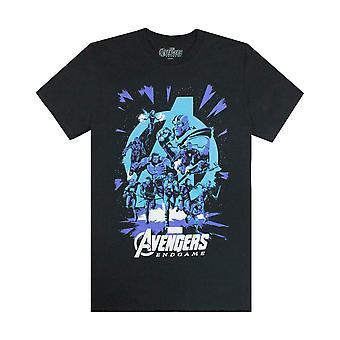 Marvel Avengers Fine Gioco Galattico Uomini T-Shirt