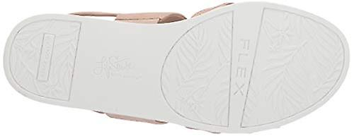 Lifestride Kvinner's Ashley 2 Flat Sandal, Rødme, 10 N Us
