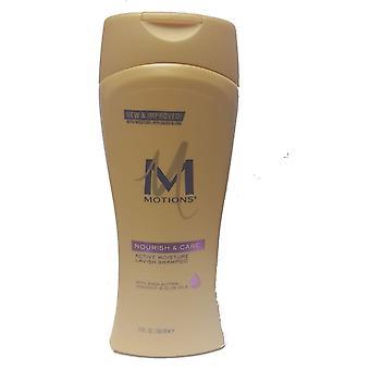 Bevægelser Nourish & Care aktiv fugt overdådig shampoo 384ml