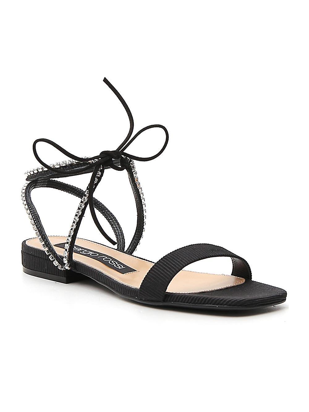 Sergio Rossi A88410mfn9241498 Femmes-apos;s Black Suede Sandals