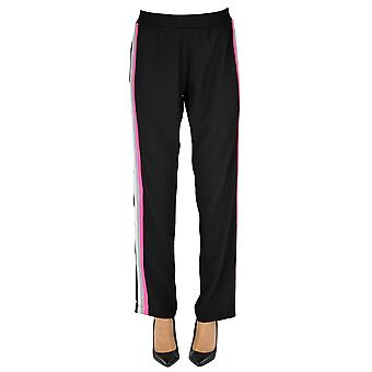 Sweet Matilda Ezgl314024 Women's Black Polyester Pants