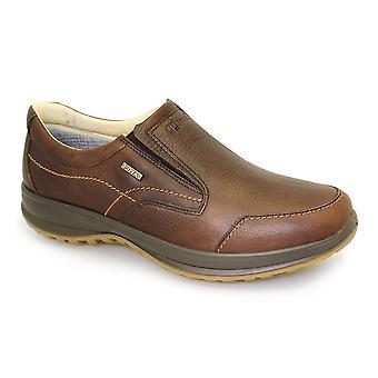 Grisport Melrose marrón resbalón activo en el zapato