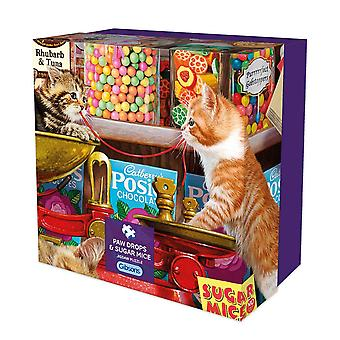 Gibsons Paw Drops & Sugar Mice Jigsaw Puzzle in Gift Box (500 pieces)