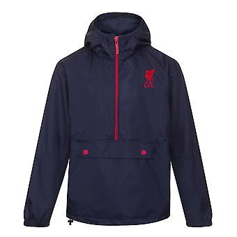 Liverpool FC Official Football Gift Mens Shower Jacket Windbreaker