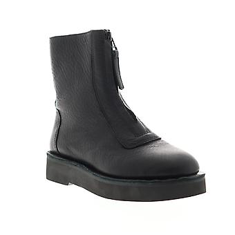 Camper Tyra  Womens Black Leather Zipper Casual Dress Boots