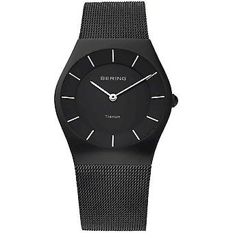Bering watches mens watch titanium collection 11935-222