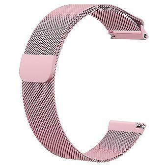 Fitbit Versa Armband milanestic Schleife aus Edelstahl