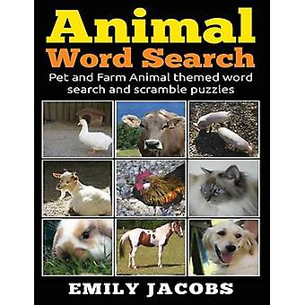 Animal Word Search by Jacobs & Emily