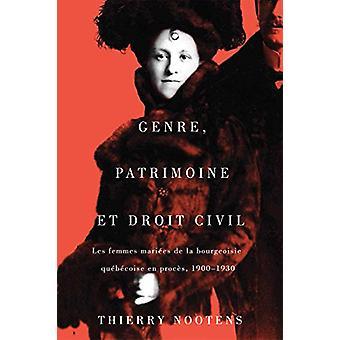 Genre - patrimoine et droit civil - Les femmes mariees de la bourgeois