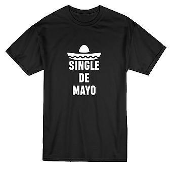 واحد دي مايو مضحك Sombrero الرسوم البيانية الرجال & apos;s تي شيرت