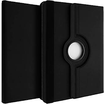 360° rotary standing case, shock absorbing cover for 10 Inch Tablets - Black