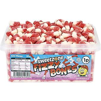 SweetZone Fizzy Bones (600) pieces 960g