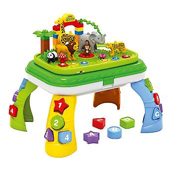 Ladida Activity Table Jungle Adventure