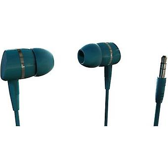 Vivanco SOLIDSOUND PETROL Hi-Fi In-ear headphones In-ear Petrol