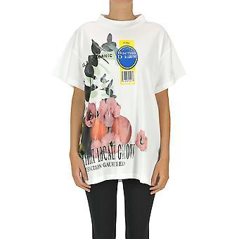 Maison Margiela Ezgl038126 Women's White Cotton T-shirt