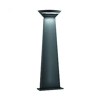 Bollard 80 Cm Led Outdoor, In Aluminum And Polycarbonate