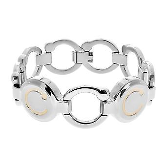 Pirouette Magnetic Bracelet Two Tone (Size: Standard 180mm)