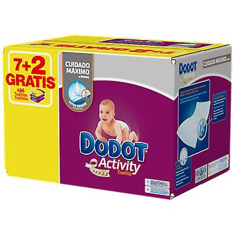 Dodot Activity Baby Wipes 486 Units (Baby & Toddler , Diapering , Baby Wipes)