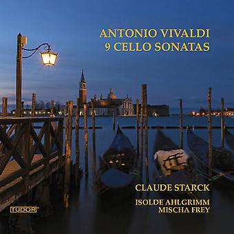 9 Cello Sonatas [CD] USA import