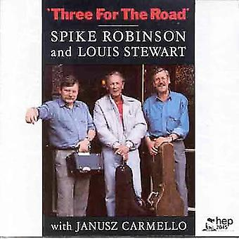 Robinson/Stewart - Three for the Road [CD] USA import