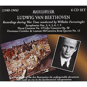 Beethoven/Furtwangler, Wilhelm - War Time Recordings [CD] USA import