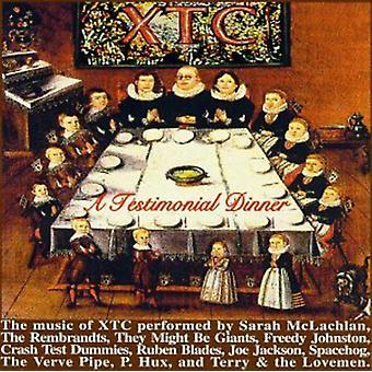 Testimonial Dinner-Songs of - Testimonial Dinner-Songs of Xt [CD] USA import