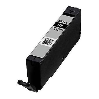 RudyTwos zamiennik Canon CLI-581BKXXL tusz czarny wkład (Extra High Yield) zgodny z Pixma iP4850, iP4950, iX6550, MG5150 MG5250, MG5300, MG5320, MG6150, MG6250, MG6220, MG8170, MG8150,