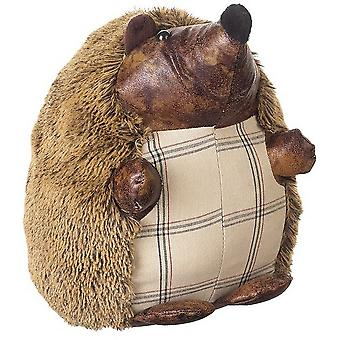 Fuzzy Hedgehog Doorstop