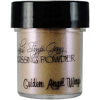 Lindy's Stamp Gang Golden Angel Wings Embossing Powder