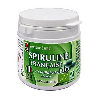 spiruline Française Bio tablets 120 tablets