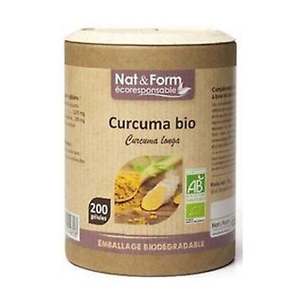 Turmeric Madras Organic 200 capsules