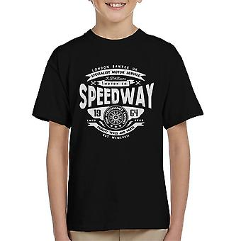 London Banter Speedway motor co Kid ' s T-shirt