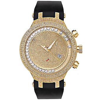 Joe Rodeo diamond men's watch - MASTER gold 2.2 ctw