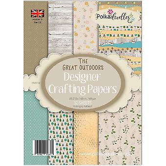 Polkadoodles Great Outdoors A5 Paper Pack