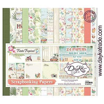 DayKa Trade Fiesta Tropical 12x12 Inch Paper Pack