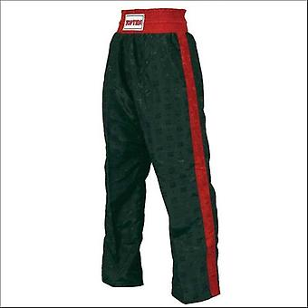 Top ten kids classic kickboxing pants black/red