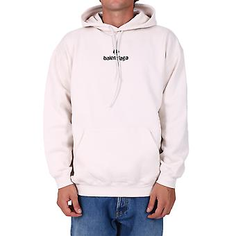 Balenciaga 570811tjve19054 Men's White Cotton Sweatshirt