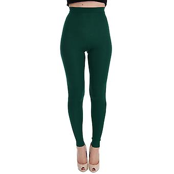 Green cashmere stretch t62703959